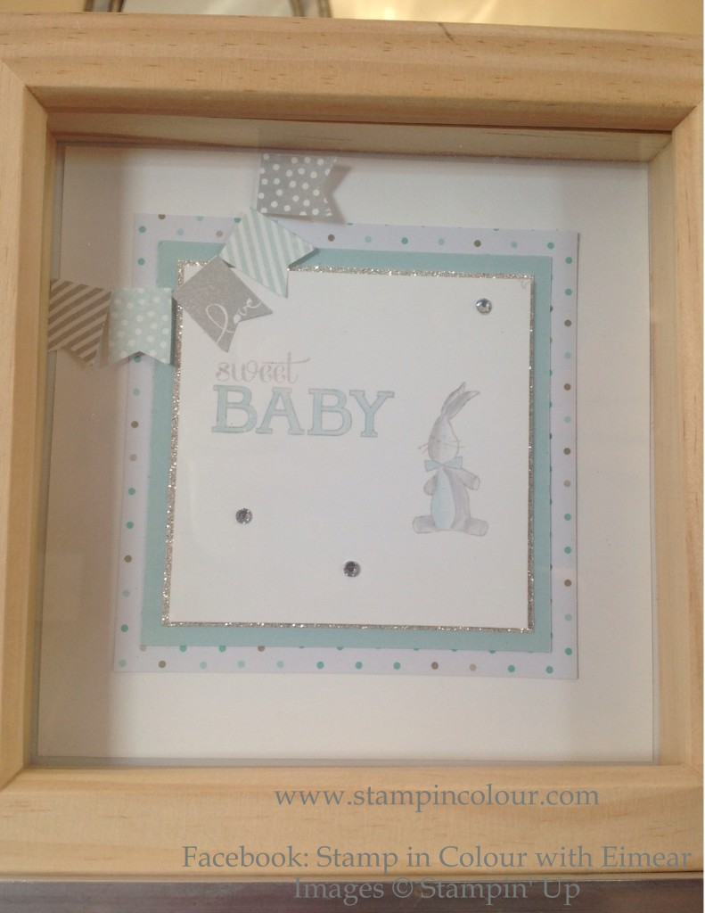 Stampin' Up Baby We've Grown Frameable-001