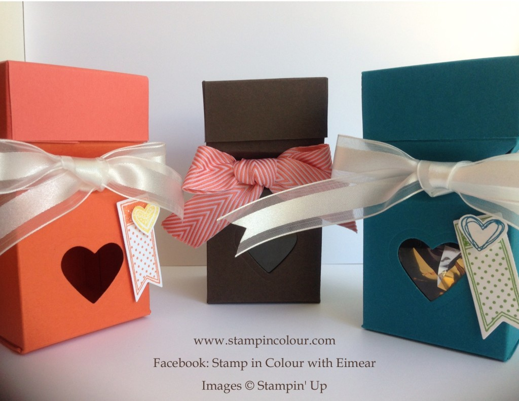 Stampin' Up Envelope Punch Board Cracker Box-001