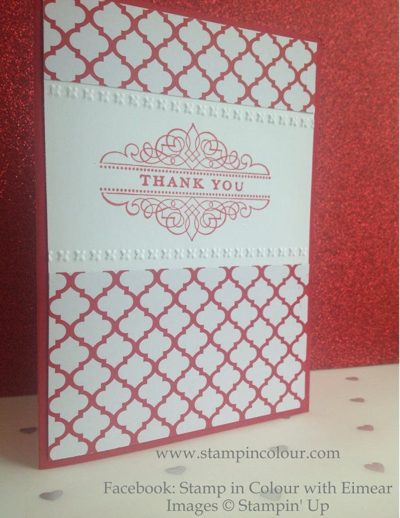 Stampin' Up Morning Meadow Thank You-001
