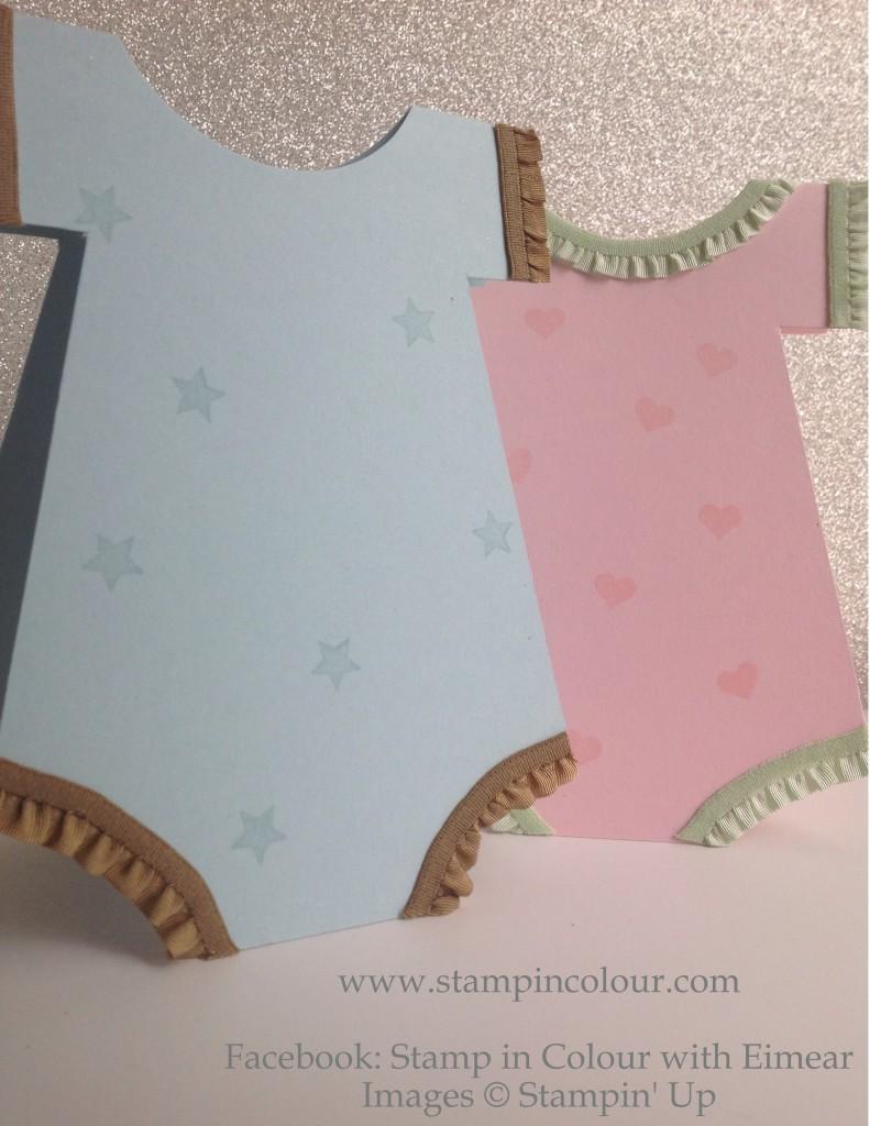 Stampin' Up babygrow cards blue-001