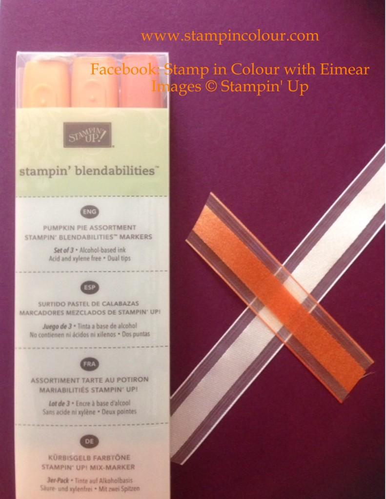 Stampin' Up Blendabilities Ribbon colouring-001