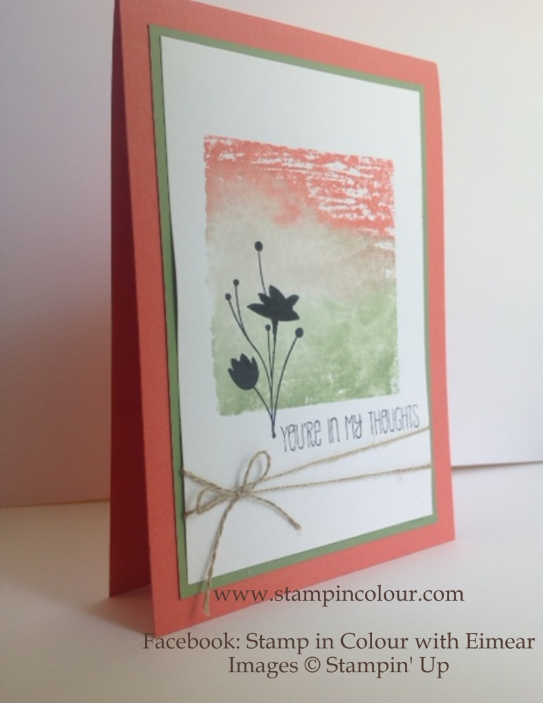 Stampin Up Block background Technique August 2014-001