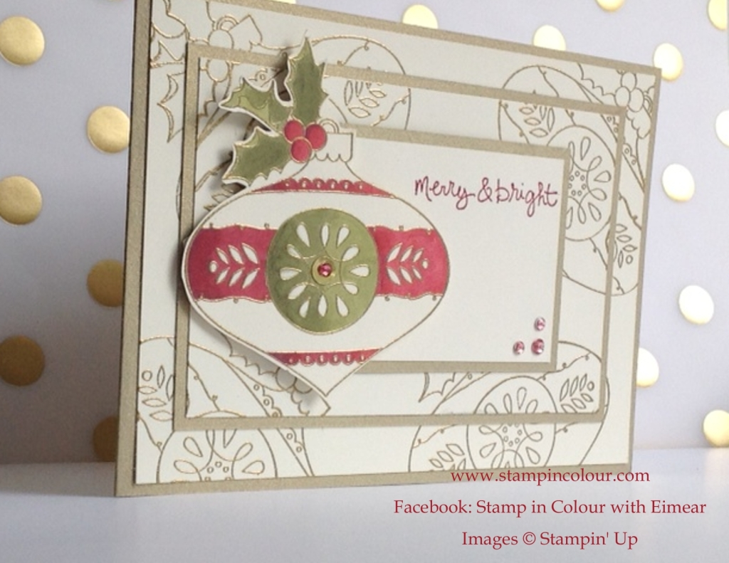 Stampin' Up Christmas Bauble Blog Hop 1-001