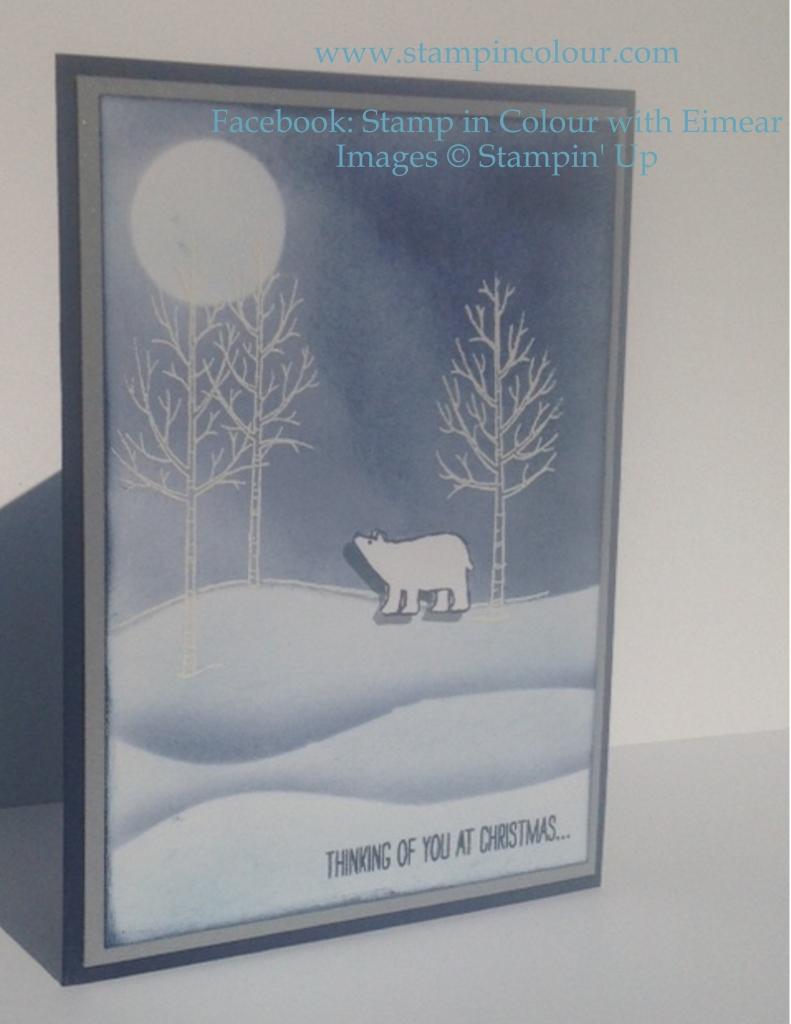 Stampin' Up White Christmas snow banks-001