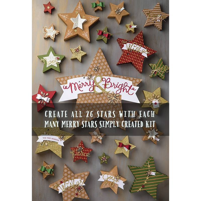 Many Merry Stars Simpoy Created Kit