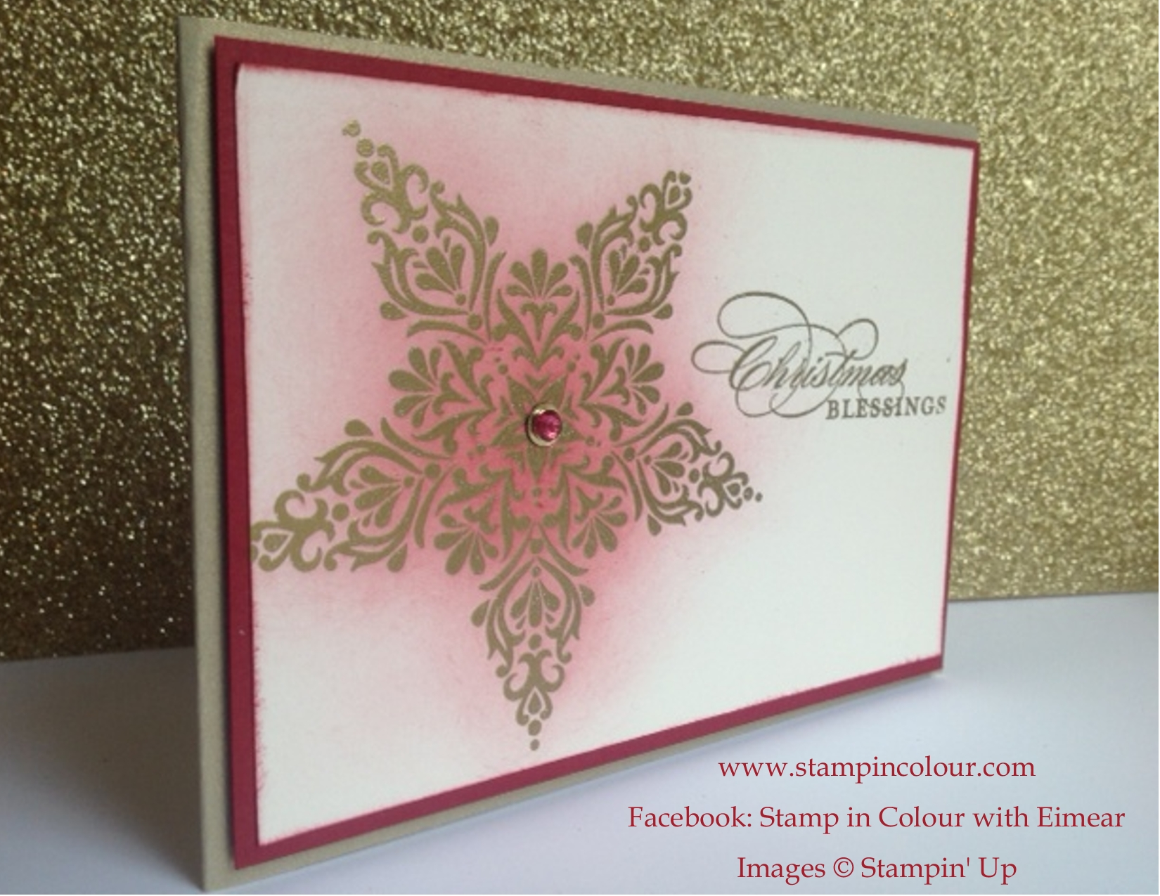 More Christmas Card ideas with Bright and Beautiful and Seasonally ...