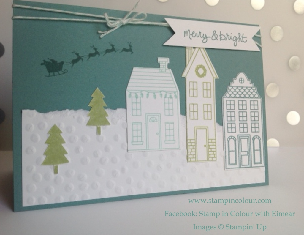 Stampin' Up Holiday Home Catalogue Case with Lost Lagoon-001