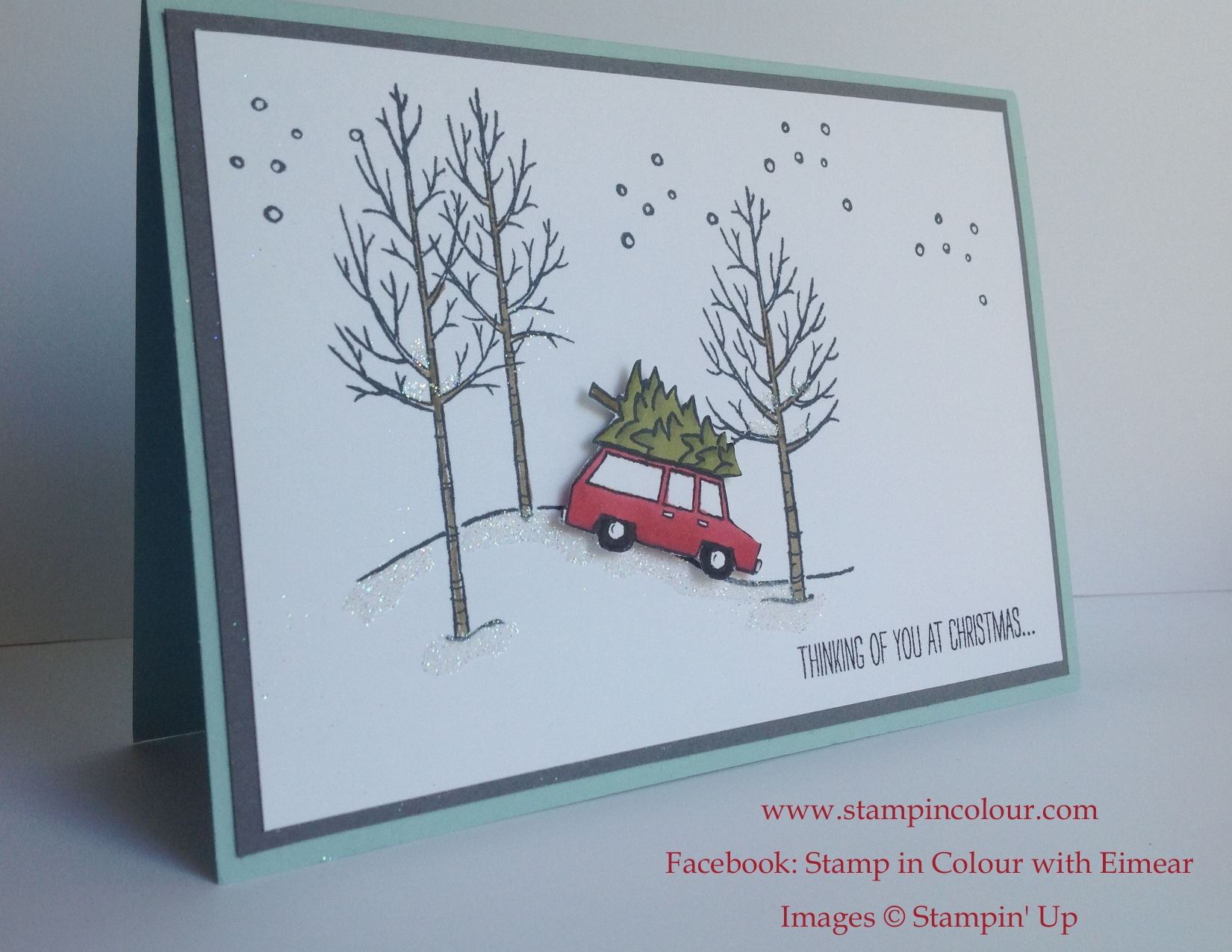 Christmas Card Ideas and Inspiration using Stampin Up products