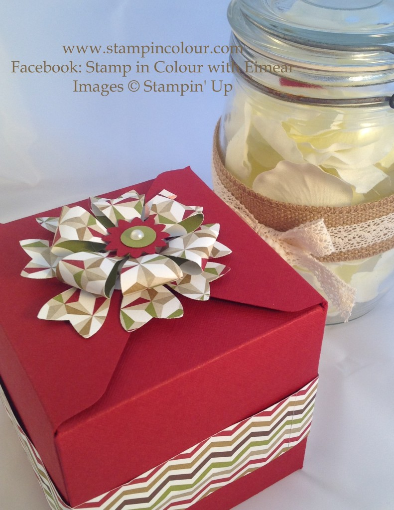 Stampin Up Bow Builder Full Box Bow-001