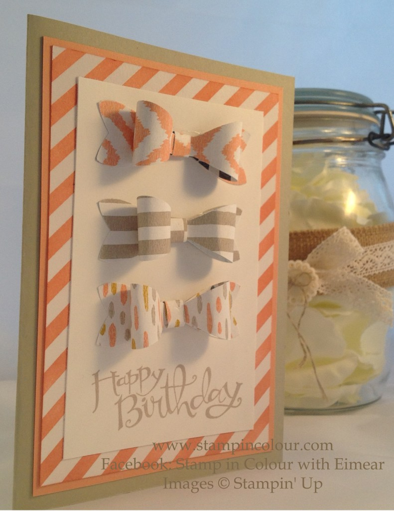 Stampin Up Bow builder irrestibly yours birthday-001