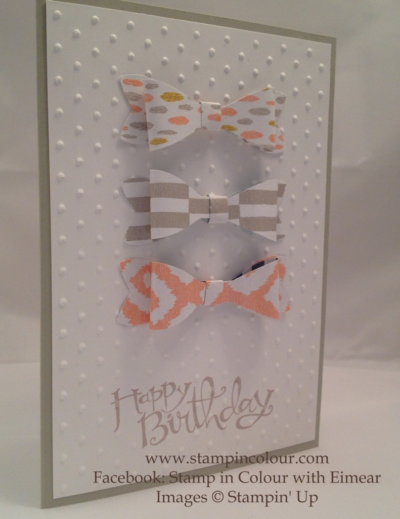 Stampin Up Bow builder punch birthday-001