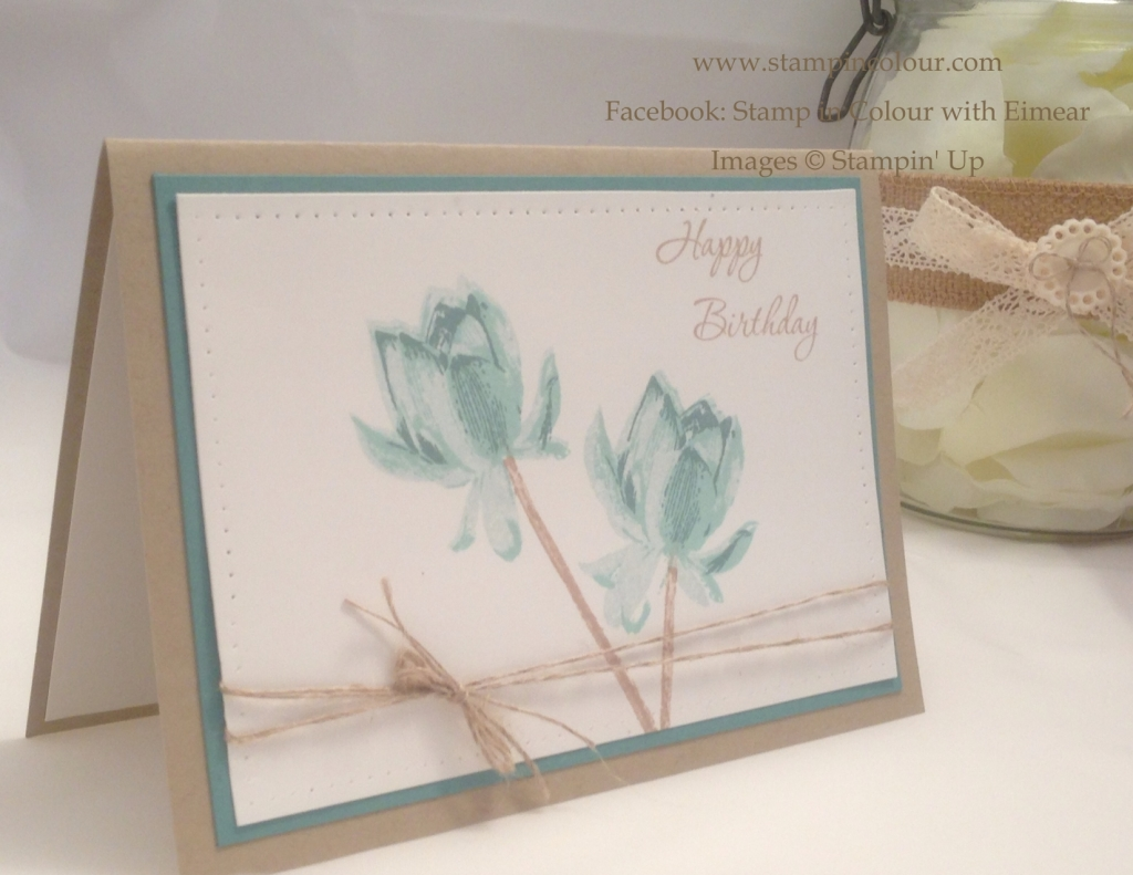 Stampin' Up Lotus Blossom Birthday-001