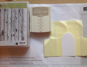 Stampin' Up Secret Garden Door Instructions 4-001