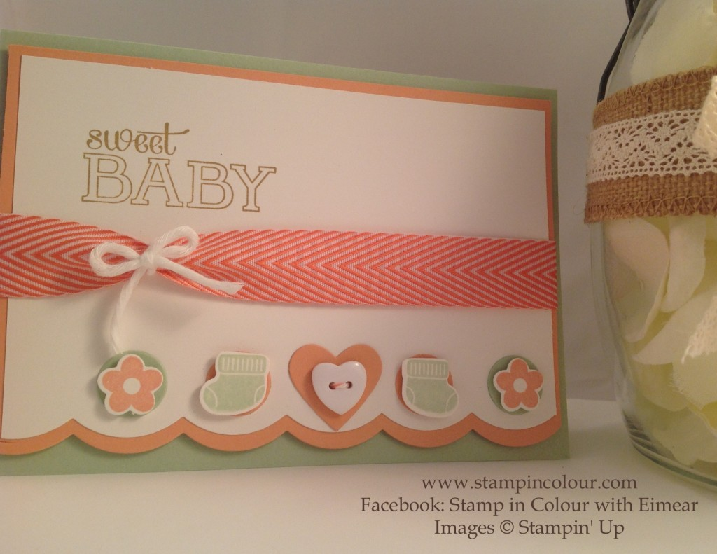 Stampin' Up Something for Baby for PPA 245-001