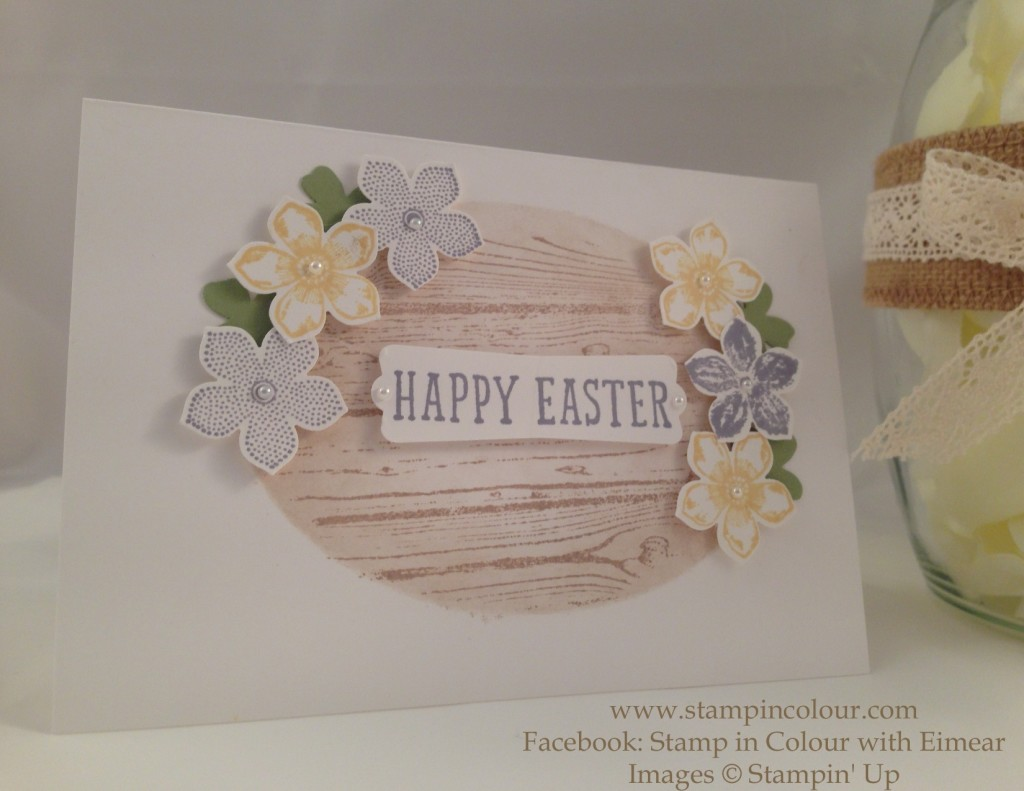 Stampin up Happy Easter masking Petite Petals-001