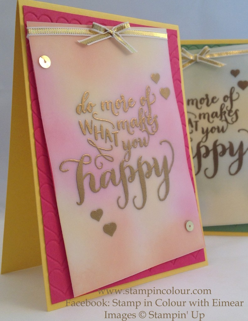 Stampin Up Hello Life Telford swap 1-001