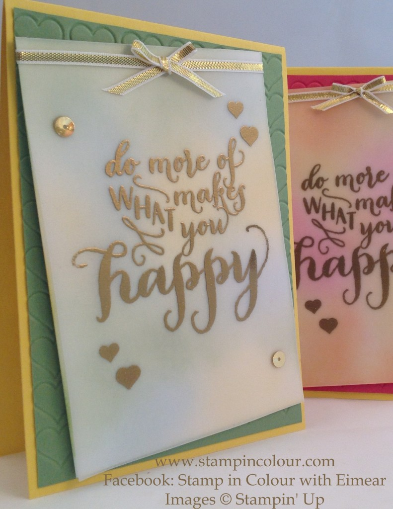 Stampin Up Hello Life Telford swap 2-001