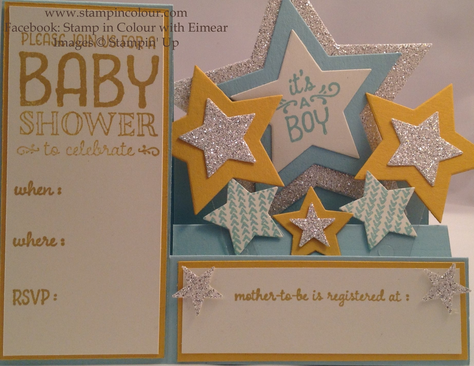 Stampin up sweet lil ones baby shower invitation 001 stampin up sweet lil ones baby shower invitation 001 filmwisefo