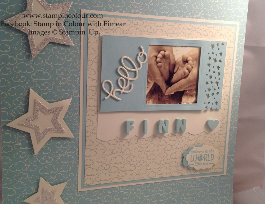Stampin' Up Sweet lil' ones 4-001