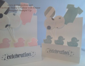 Stampin' Up Something for Baby Tutorial 13-001