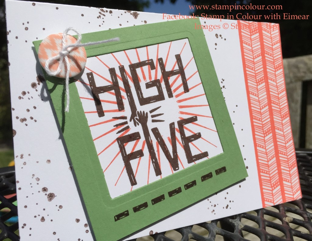 Stampin' Up That Thing You Did Chevron 1-001