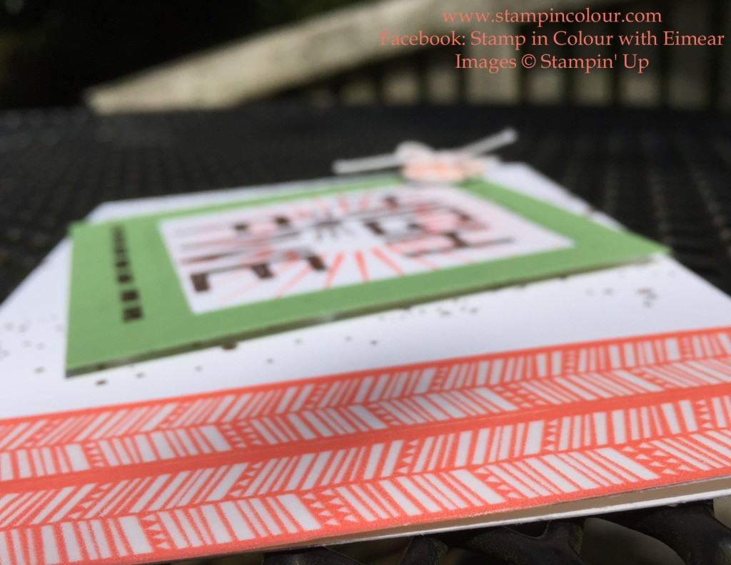 Stampin' Up That Thing You Did Chevron 3-001