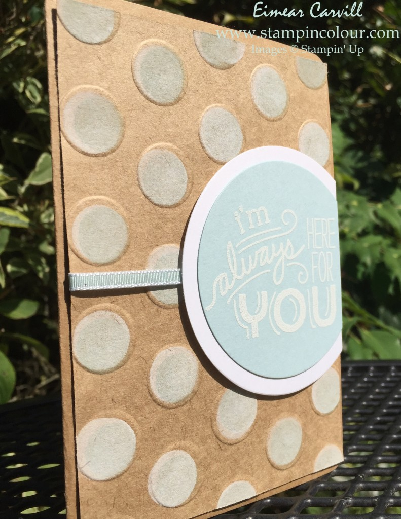 Stampin Up Friendly Wishes and Polka Dots-001