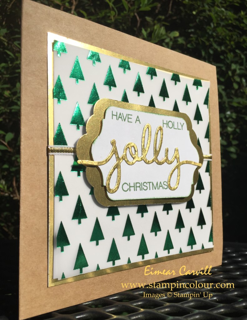 Stampin Up Holly Jolly Christmas Greetings 1-001