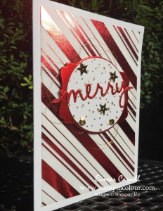 Stampin Up Holly Jolly Christmas Greetings Red 1-001