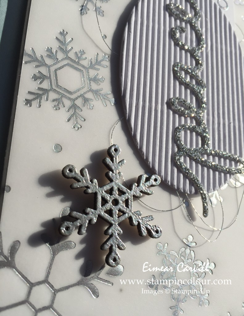 Stampin Up Holly Jolly Christmas Greetings  Snowflake close-up-001