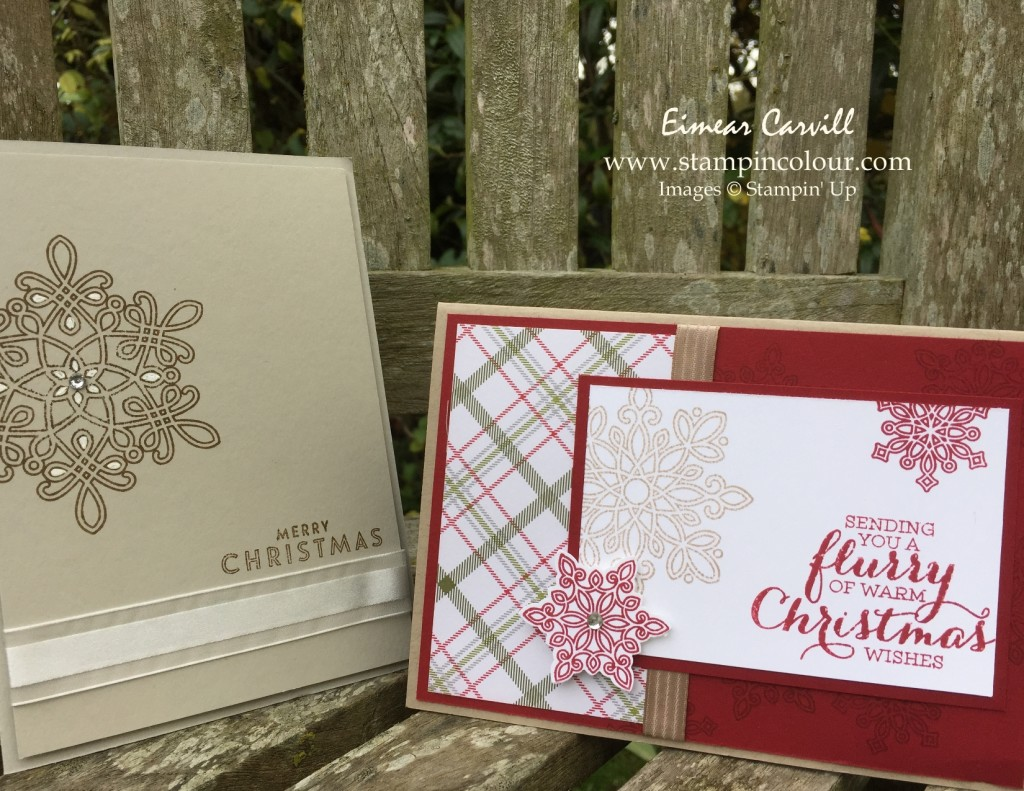 Stampin Up Flurry Of Wishes Stamp-a-Stack-001