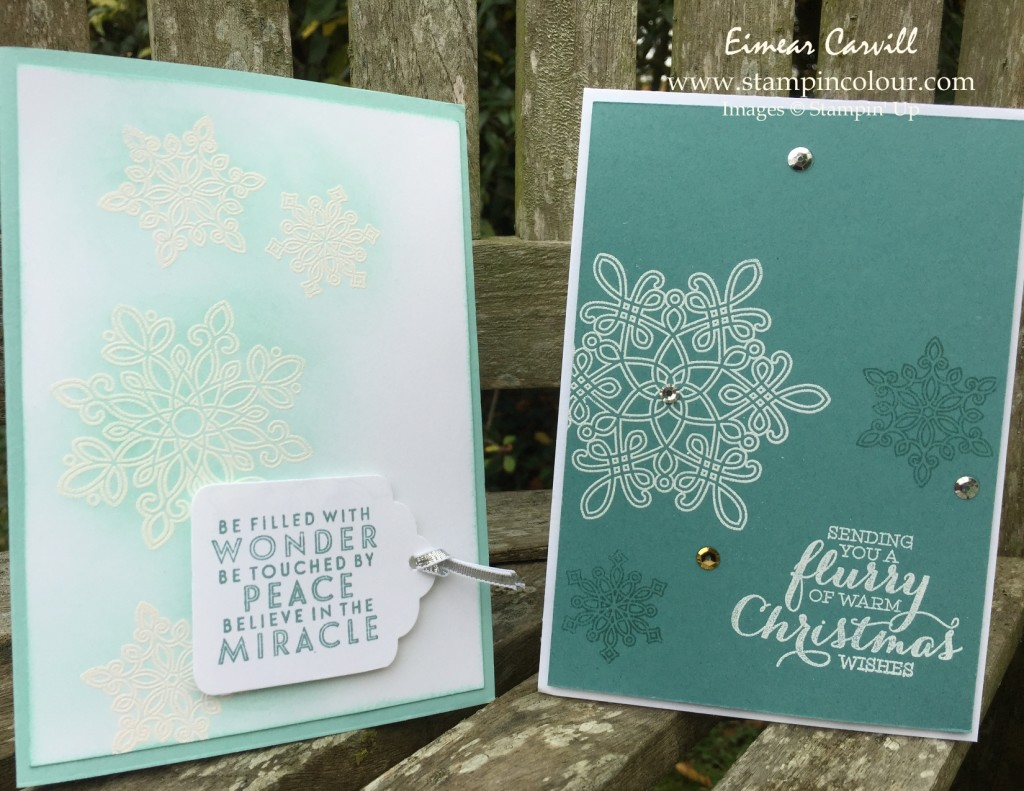 Stampin Up Flurry Of Wishes Stamp-a-Stack 2-001