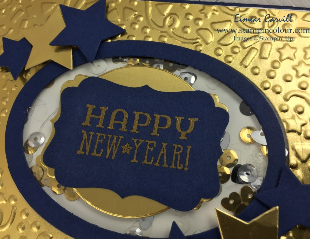 Stampin Up Happy New Year #GDP016-001