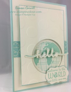 Stampin Up Going Global for GDP#022-001