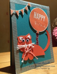 Stampin Up Punch Art cat-001