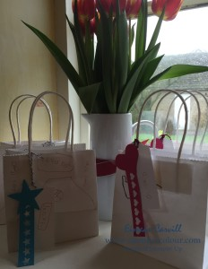Stampin Up party bags-001