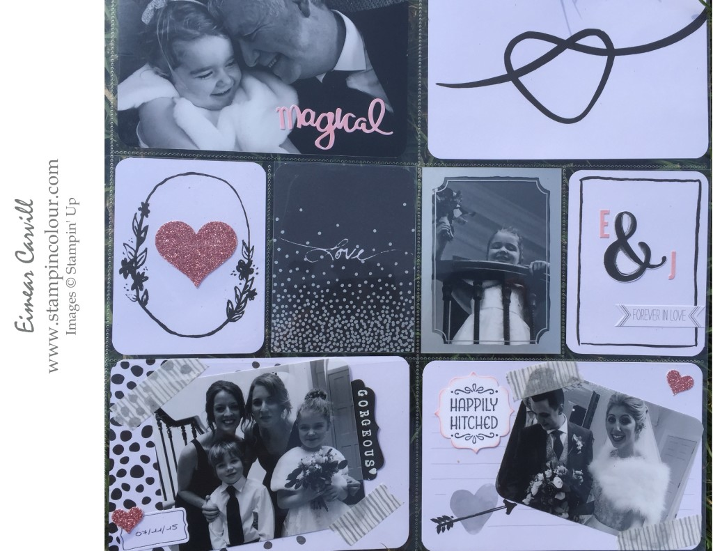 Stampin Creative March Blog Hop Project Life Love Story-001