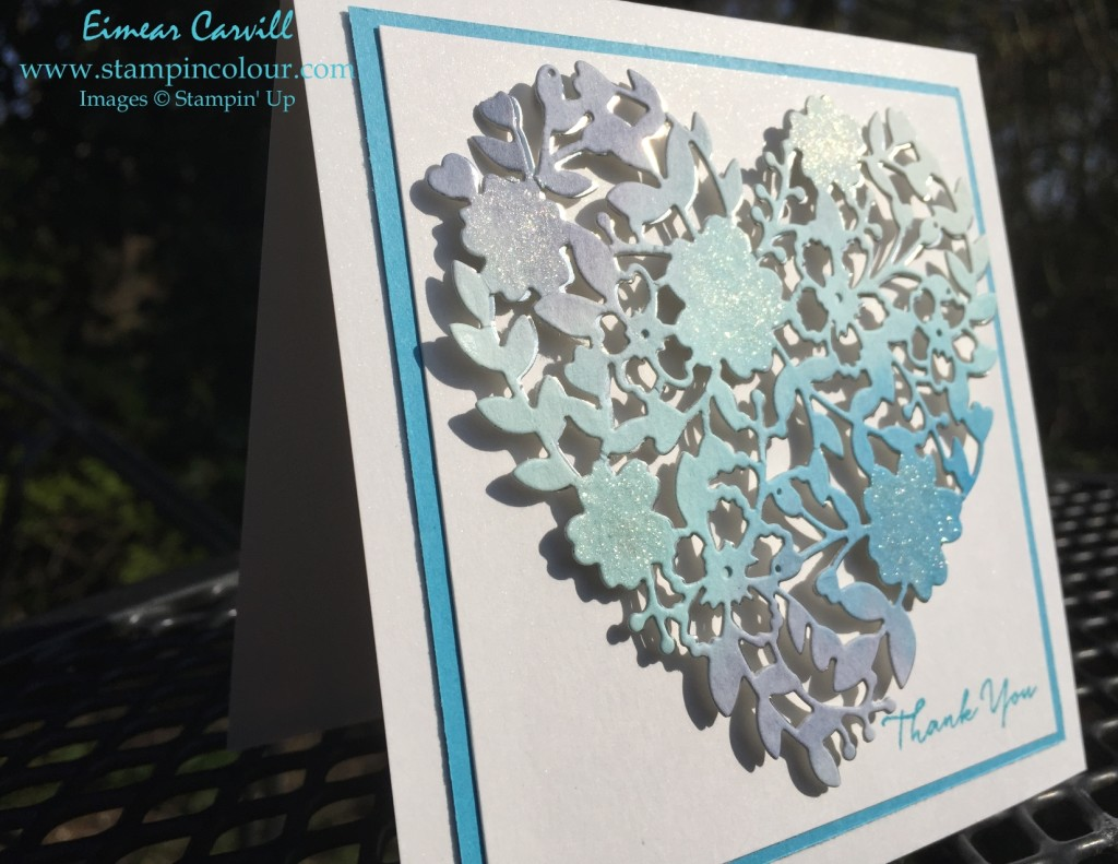 Stampin Up Bloomin' Heart Thank you 2-001