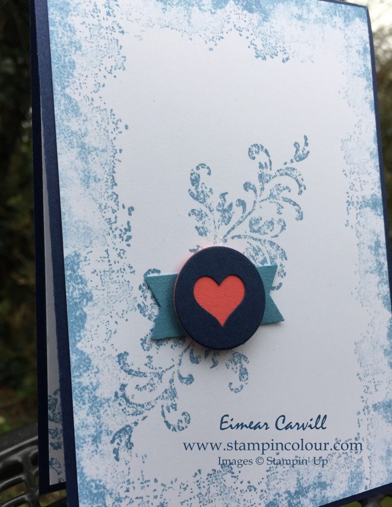 Stampin Up Timeless Textures CAS 1-001