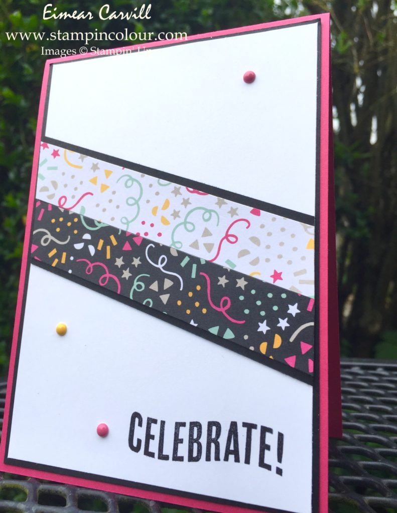 Stampin Up Celebrate Today for CAS May 2-001