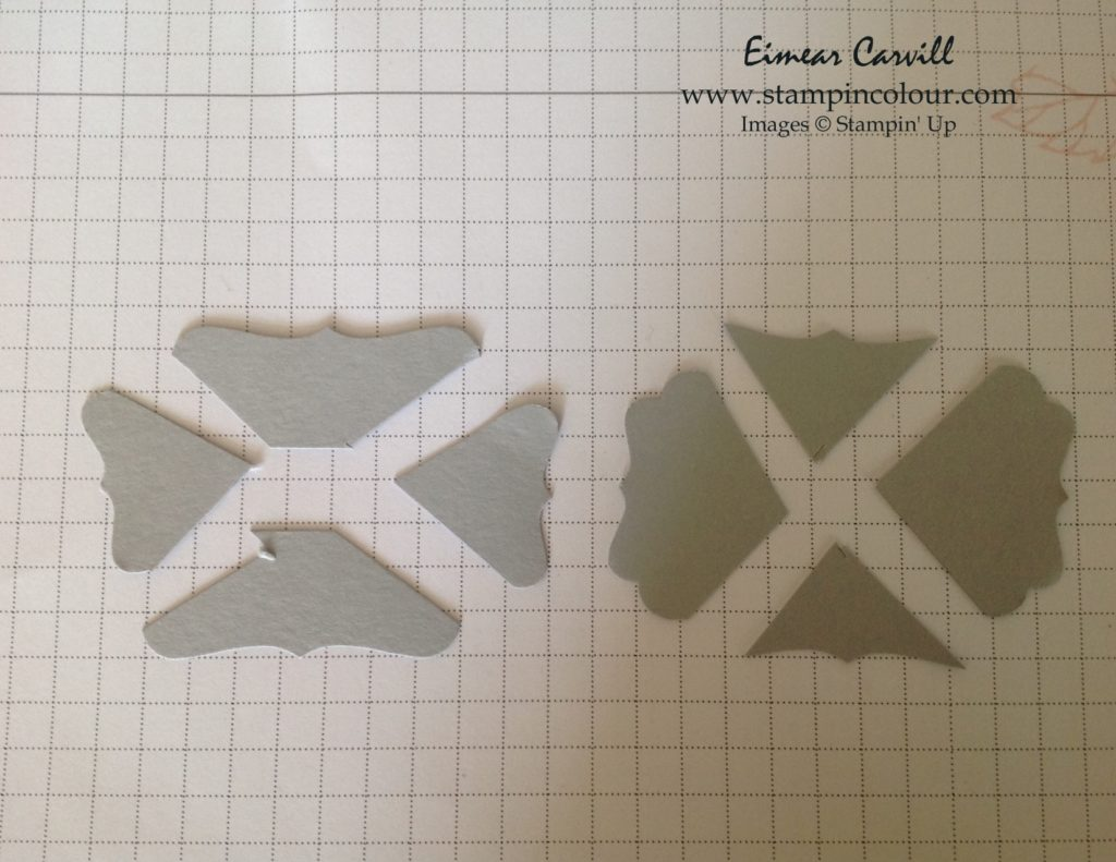 Stampin Up Decorative Label Punch 1-001