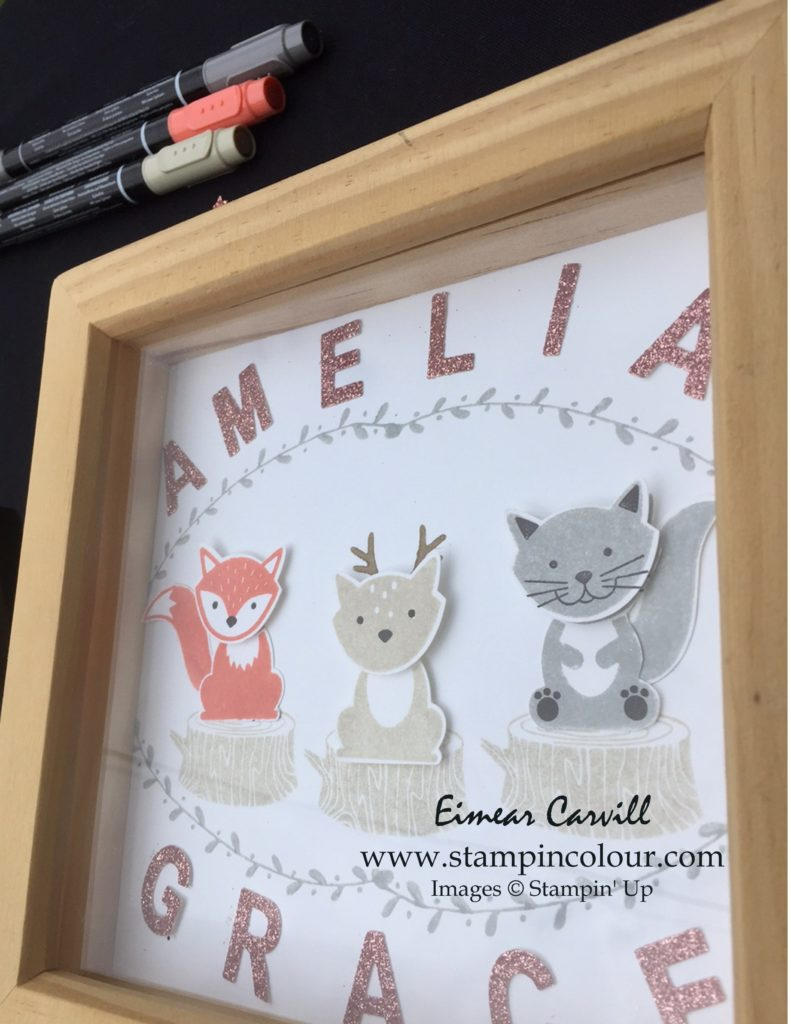 Stampin' Up Foxy Friends Frame 2-001