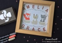 Stampin Up Foxy Friends frame 1-001