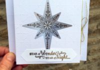Stampin Up Star of Light Diorama card