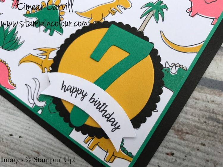 Pick a Pattern Kid's Birthday cards Eimear Carvill Stampincolour