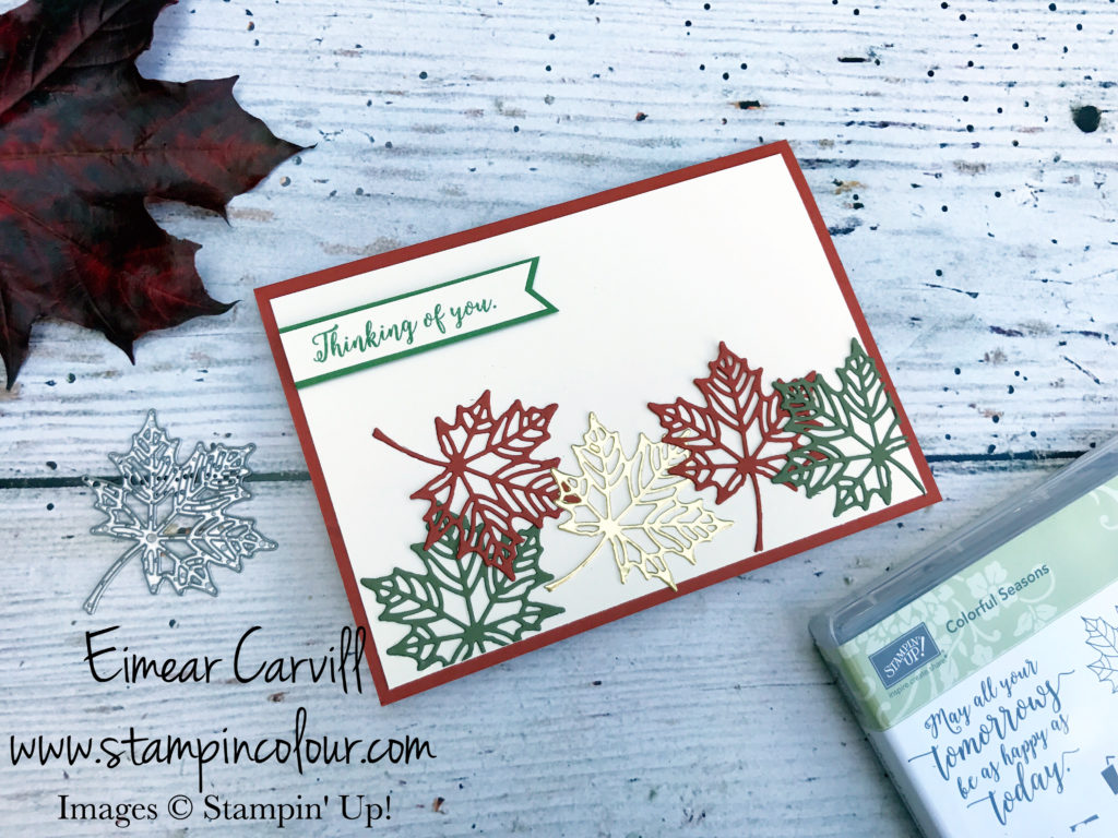 Seasonal Layers using scraps Eimear Carvill stampincolour