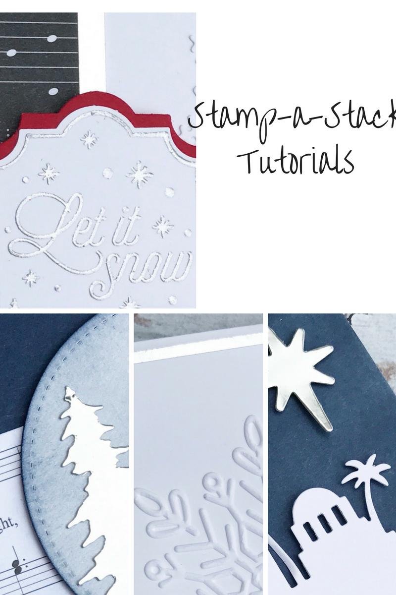 Eimear Carvill www.stampincolour.com WLCR Christmas Crafty Escape Stamp-a-Stack class Tutorials