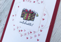 Handmade Christmas, Cardmaking UK, Eimear Carvill, stampincolour.com, Stampin' Up, Weather Together, Stampin' Blends