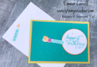 Picture Perfect Birthday for Inspire Create Challenge #5, Eimear Carvill, www.stampincolour.com