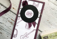Epic Celebrations Album Birthday card, Sale-a-bration 2018, Eimear Carvill, www.stampincolour.com, Male Birthday card, Kid's Birthday card, Teen Birthday card